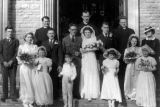 1945 Wedding Photo